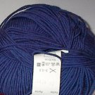 GGH Muench Merino Soft Superwash Wool Yarn 29 Blue Loom Knit Crochet