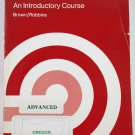 Instructor's Guide and Solutions for Advanced Mathematics: An Introductory Course 0395293367