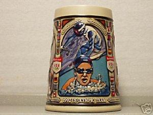 BUDWEISER CS168 1992 US OLYMPIC TEAM STEIN MUG