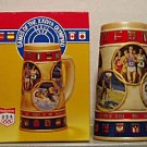 BUDWEISER 1 CS92 1988 SUMMER OLYMPIC GAMES STEIN MUG