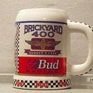 BUDWEISER N6081 1996 BRICKYARD 400 #3 STEIN MUG