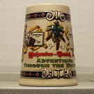 BUDWEISER SOPOST6 1996 ADVERTISING DECADES #4 MUG STEIN