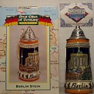 BUDWEISER CS328 1997 GERMANY BERLIN STEIN MUG