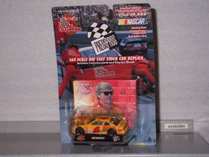NASCAR 1999 #4 BOBBY HAMILTON KODAK MAX 1/64 PRESS PASS