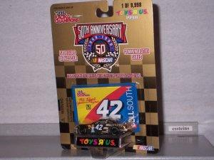 NASCAR 1998 #42 JOE NEMECHEK BELL SOUTH 1/64 Toys R Us