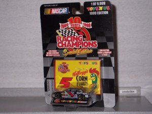 NASCAR 1999 #5 TERRY LABONTE KELLOGGS 1/64 RC Toys R us