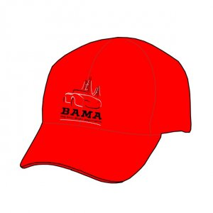 BAMA Hats (Red)