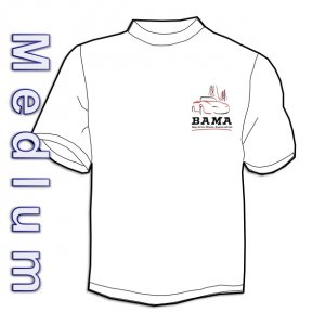 BAMA Logo Tee-shirt (Medium - White)