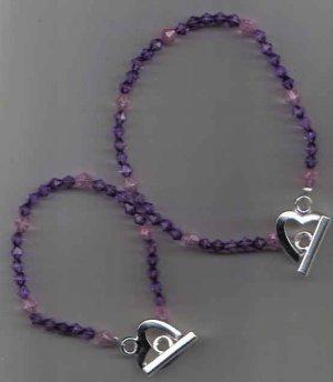 Mother Daughter Matching Glass Bracelets