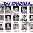 1962-63 EPHL HULL-OTTAWA CANADIENS HEADSHOTS PHOTO