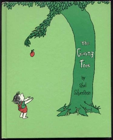 Shel Silverstein - The Giving Tree, HC noDJ - A Poignant Classic!