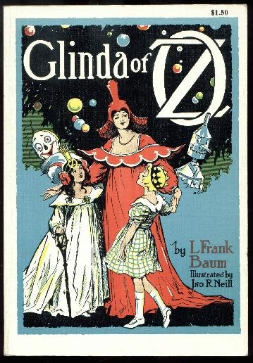 Glinda of Oz, L. Frank Baum - Rand McNally Softcover