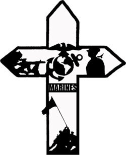 Marines Cross Pattern