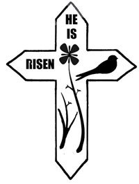 "Easter Cross - ""HE IS RISEN"" Pattern"