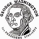 George Washington Coin Design Pattern