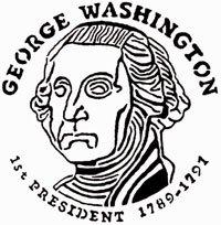 George Washington Coin Design Pattern