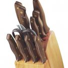 Chicago Cutlery Walnut Signature Forged 12-Pc Block Set