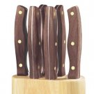 Chicago Cutlery Walnut Signature Forged 7-Pc Steak Block Set