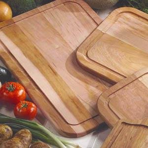 "Chicago Cutlery Woodworks 13.5"" x 19.5"" Carving Board"