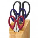 Chicago Cutlery 4-Pc Scissor Block Set