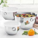 Revere 6-Pc Stainless Steel Mixing Bowl Set