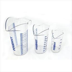POURfect® 1-2-4 CUP POLYCARBONATE BEAKER SET