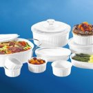 CorningWare French White 17-Pc Set