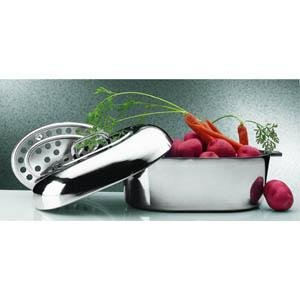 """Magnalite 15"""" Oval Covered Roaster"""