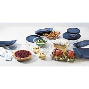 Pyrex Originals 19-Pc Baking Set