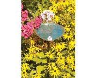 Aspen Leaf Bird Bath