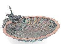 Scallop Shell Bird Bath