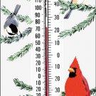 Cardinal/Chickadee Thermometer