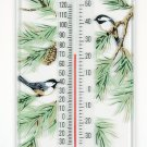 Chickadee/Pine Thermometer