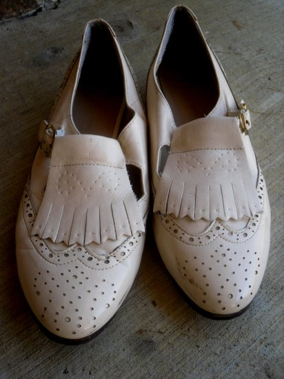 Cream Oxfords