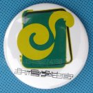 """25 Custom Made To Order Buttons Pins Badges 1.75"""" (44mm) Glossy Surface"""