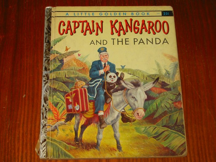 Captain Kangaroo and The Panda