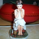 "Norman Rockwell ""The Daydreamer"" Figurine 1973'"