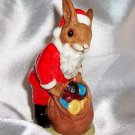"Royal Doulton Santa Bunnykins ""Happy Christmas"" DB 17 Figurine"