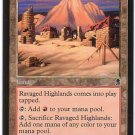 Magic The Gathering MTG Ravaged Highlands Odyssey