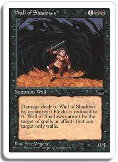 Magic The Gathering MTG Wall Of Shadows Chronicles
