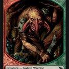 Magic MTG Promo Token Goblin Warrior Shadowmoor