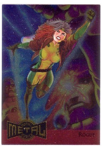 Marvel Comics Metal Blaster Trading Card Rogue Limited Edition