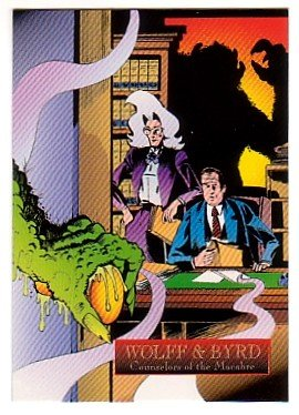 Wolff & Byrd Counselors of the Macabre Promo Trading Card