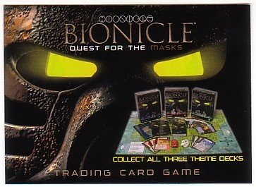 Lego Bionicle Promo Card Quest For The Masks