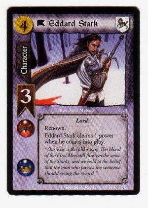 Game of Thrones Card Game - Eddard Stark U24 - Westeros Edition