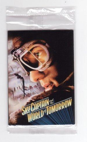 Sky Captain & The World of Tomorrow Set of 4 Promo Trading Card Comicon 2004