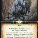 Legend of 5 Rings L5R Hidden In The Shadows Card - Dead of Winter Michael Kaluta