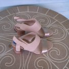 Ladies' Beige Franco Sarto Shoes Sandals Heels Size 7.5M Great Condition!
