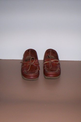 Vintage Brown Leather SEARS ROEBUCK & CO. Loafers Shoes Women's Size 7?