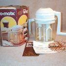Popeil Whip O Matic 1975 w/ Orig Box Directions Recipes Booklet + Bar Drinks Booklet